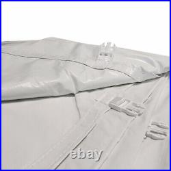8'H 20x40' High Peak Tent Sidewall Kit Solid & Cathedral Window 16 Oz Block-Out