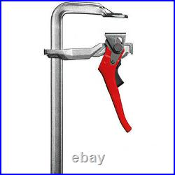 Bessey GH25 Heavy Duty Solid Sintered Steel Lever Ratchet Clamp Depth 120mm