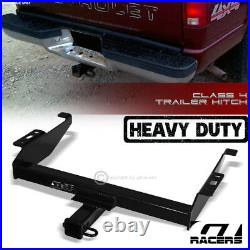 For 1994-2000 Chevy/GMC C/K Class 4 Trailer Hitch Receiver Towing Heavy Duty 2