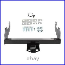 For 2015-2020 Ford F150 Class 4 Trailer Hitch Receiver Bumper Tow Heavy Duty 2