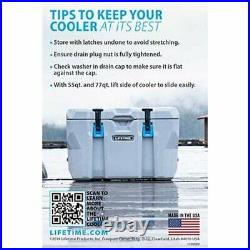 Heavy Duty 55 Quart Cooler Hunting Camping Insulated Chest Boxes 7 Day Ice