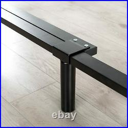 Heavy Duty Bed Frame Metal Base Adjustable Full Queen King Size 7in Strong Steel