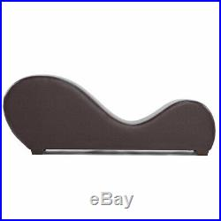 Heavy Duty Leather Yoga Position Play Chair Sofa Lounge Couch Chaise Make Love