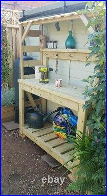 Heavy Duty Solid potting table bench