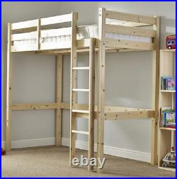 Loft Bunk Bed Heavy Duty 3ft single wooden high sleeper bunkbed CAN BE USED