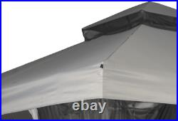 Mainstays 10'X10' Easy Assembly Gazebo Replacement Canopy Fade Resistant Fabric