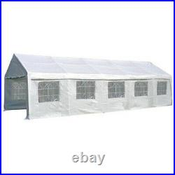 Palm Springs 13'x33' Heavy Duty Outdoor Carport Canopy Wedding Party Tent Garage