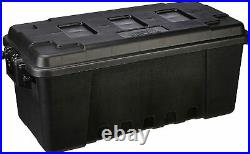 Plano Tote Storage Trunk Tub Boxes Container Garage Camping Gears Bins 68 QT Blk