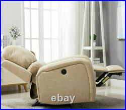 Power Recliner Chair with USB Port Heavy Duty Leather Sofa Couch Oversize Lounge