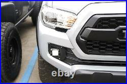 SAE Compliant LED Fog Light with Mounting Brackets & Wires For 16-up Toyota Tacoma